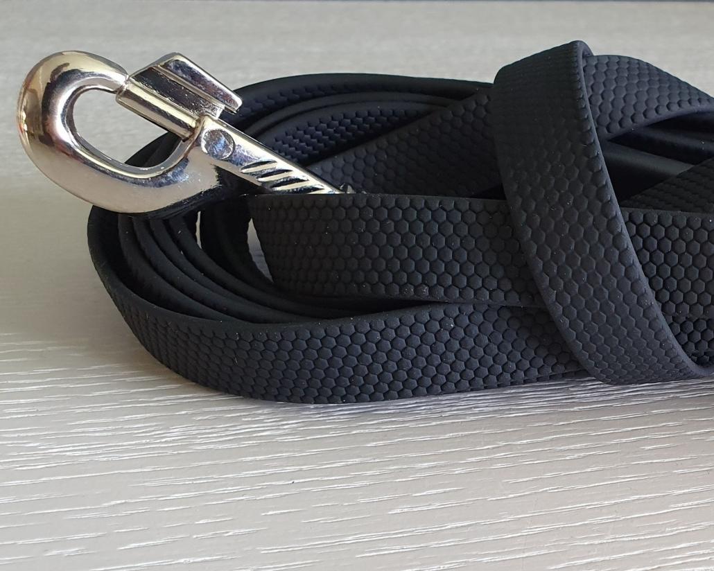Hondenlijn zwart Easy Grip