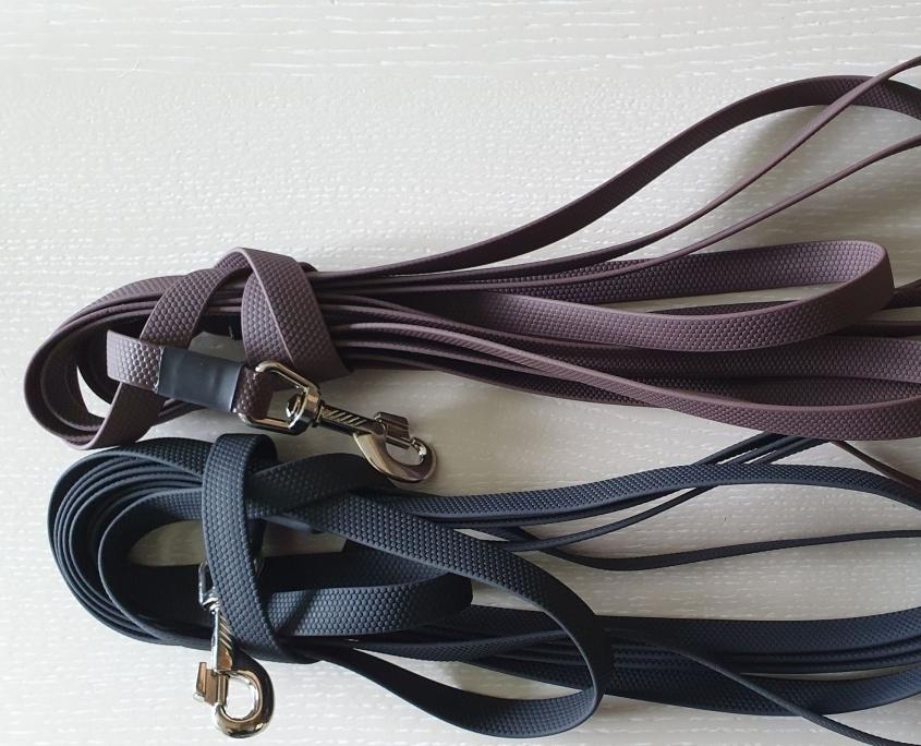 Hondenlijn zwart of bruin Easy Grip