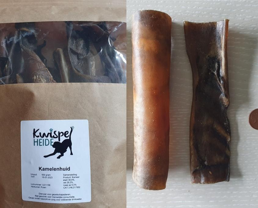 Natuurlijk kauwmateriaal hond - Kamelenhuid